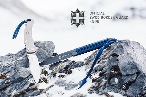 Official Swiss Border Guard Knife, made in Switzerland