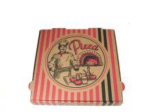 Pizzamesser Set Nussbaumholz