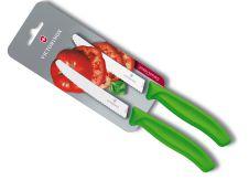 Tomatenmesser 2er Set grün